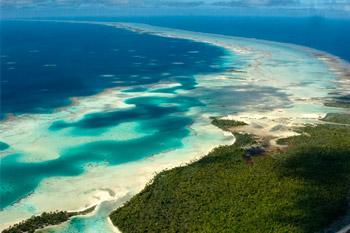 Fakarava en Polynésie française © INPN - Franck Mazeas