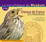 Coffret 5 CD Oiseaux de France, les passereaux