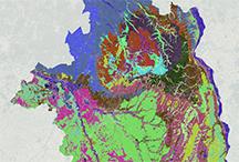 Carte des biotopes du département du Loiret réalisé en 2019 © UMS PatriNat