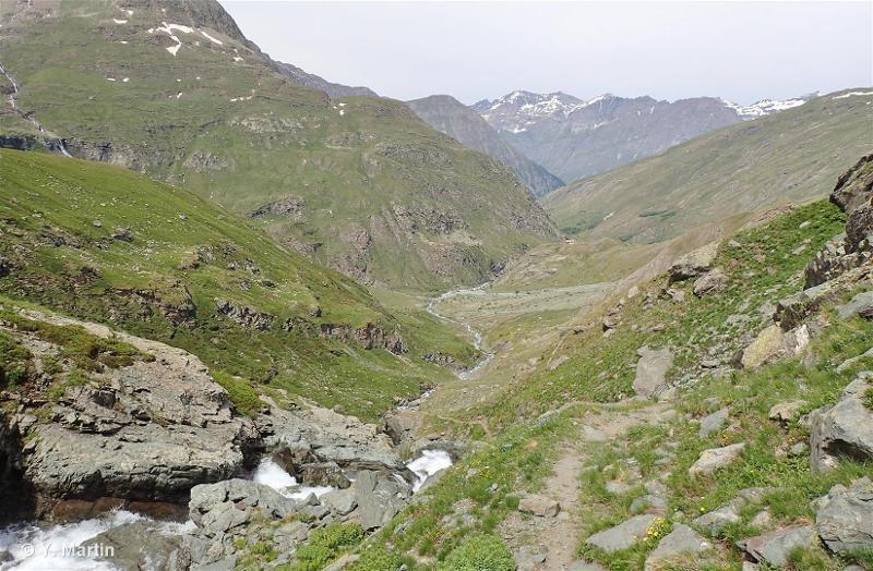 Vallée de la Lombarde, vallon d'Arnès