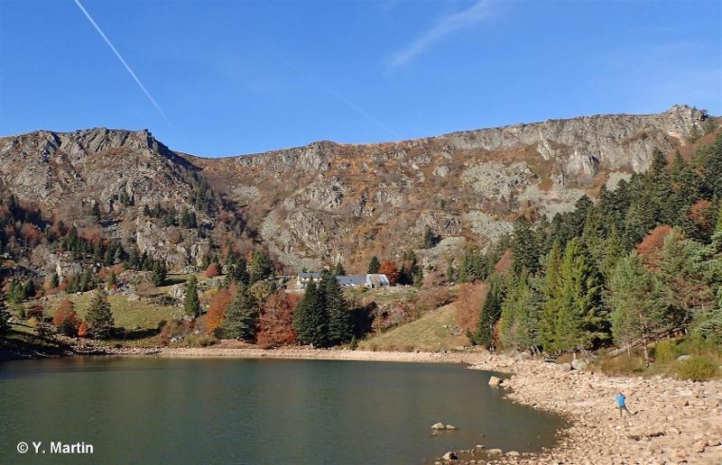 Cirque et vallée glaciaire du Forlet