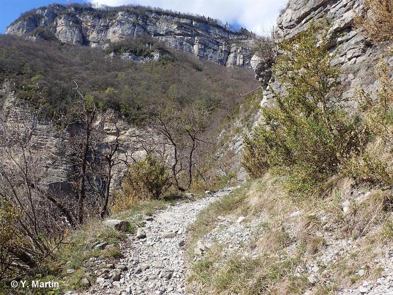 Balmes et falaises orientales de Chartreuse