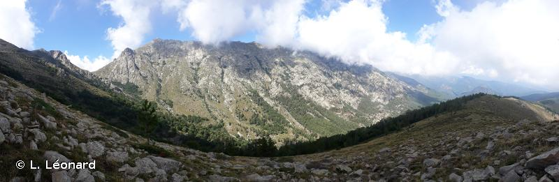 Plateau du Coscione et massif de l'Incudine