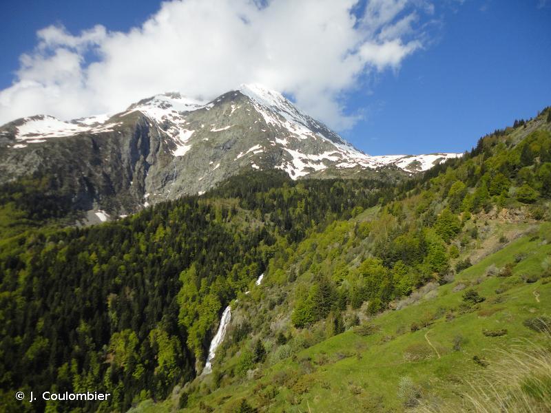 Forêts, landes et prairies de fauche des versants du Col d'Ornon