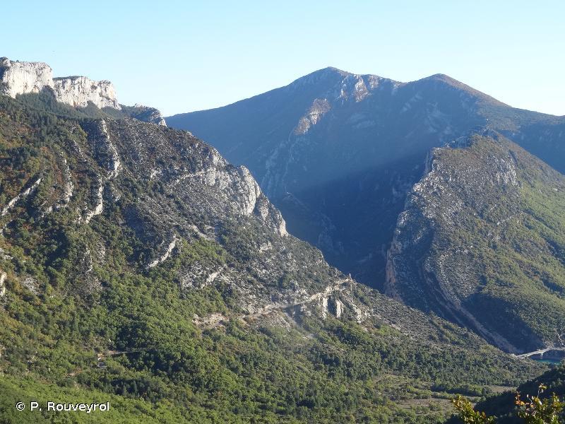 Grand canyon du Verdon - plateau de la Palud