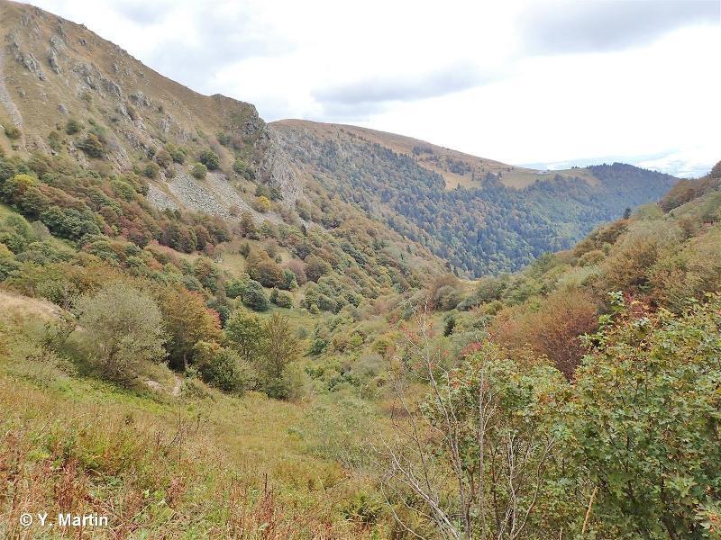 Wormspel, Ammelthal et vallée glaciaire de la Wormsa