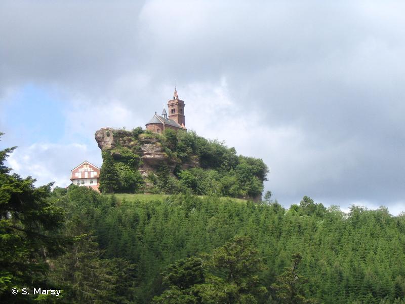 Cours d'eau, tourbières, rochers et forêts des Vosges du nord et souterrain de Ramstein