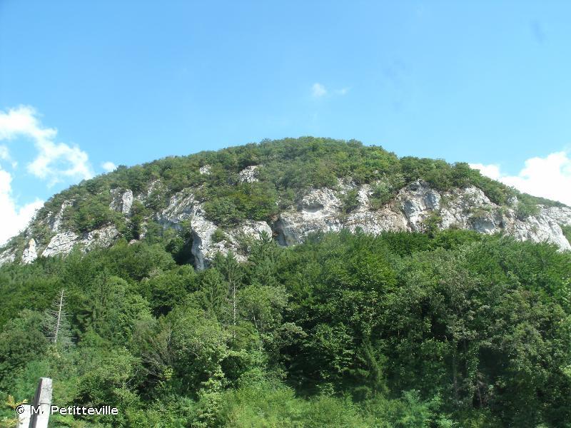 Versant méridional de la Mandallaz et milieux de sa base