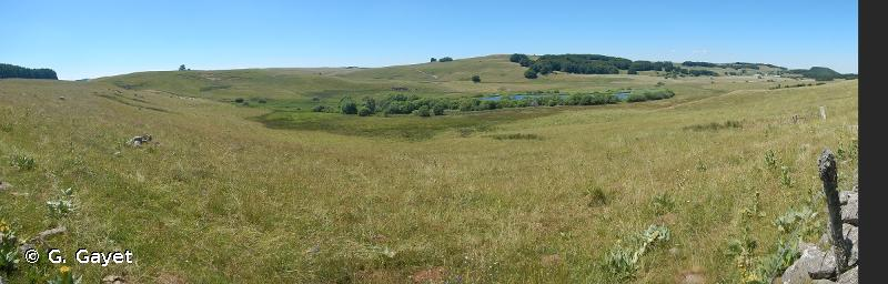 Lac et tourbière de Souveyrols