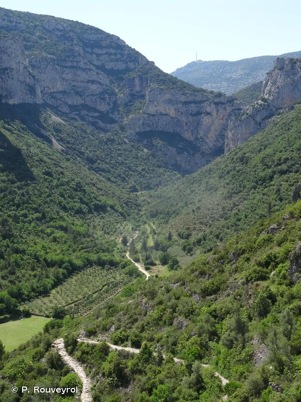 Vallée du Verdus et Cirque de l'Infernet