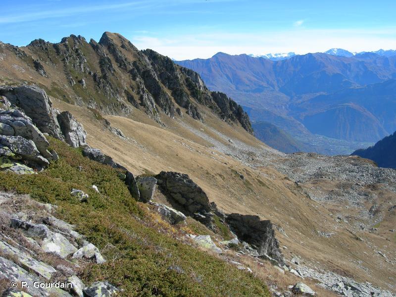 Versant ouest de la vallée des Villards