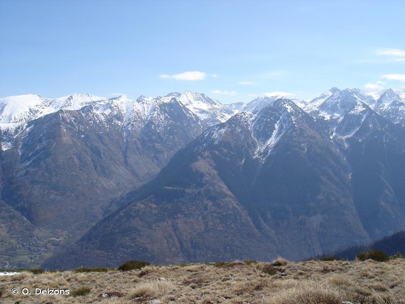 Vallée et bassin versant de l'Oriège
