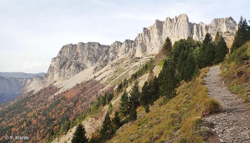 Crêtes orientales du massif du Vercors