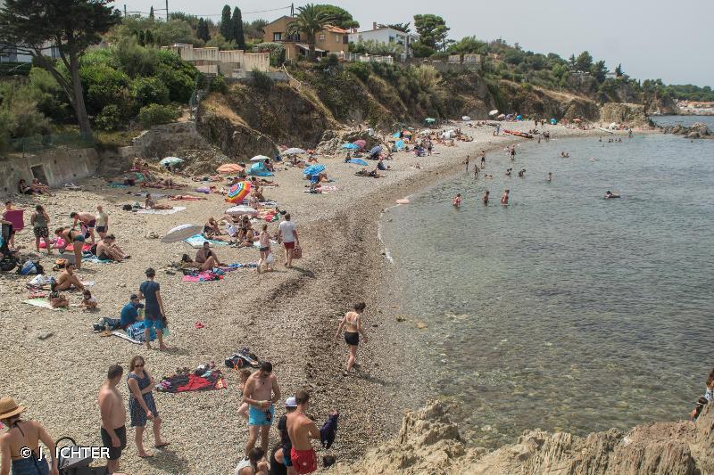 Falaises du Racou à Collioure