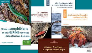 De nouveaux ouvrages naturalistes de référence