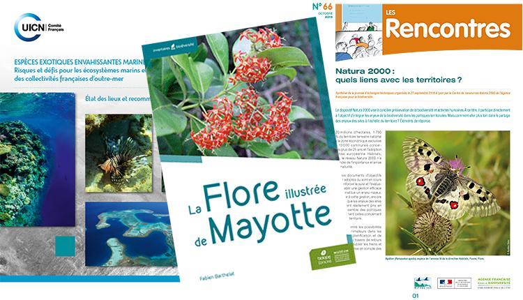Espèces exotiques envahissantes marines : risques et défis pour les outre‑mer français - La Flore illustrée de Mayotte - Natura 2000 : quels liens avec les territoires ?