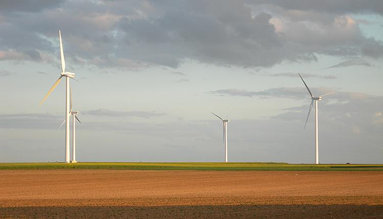 Éoliennes © Philippe Gourdain