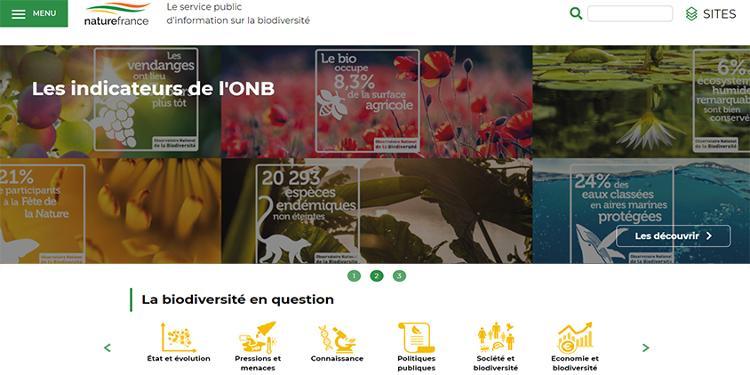 Site naturefrance.fr © OFB