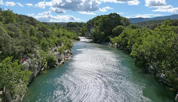 Le site Natura 2000 des Gorges de l'Hérault fait l'objet de mesures de protection réglementaire par un arrêté de protection de biotope © J. Ichter