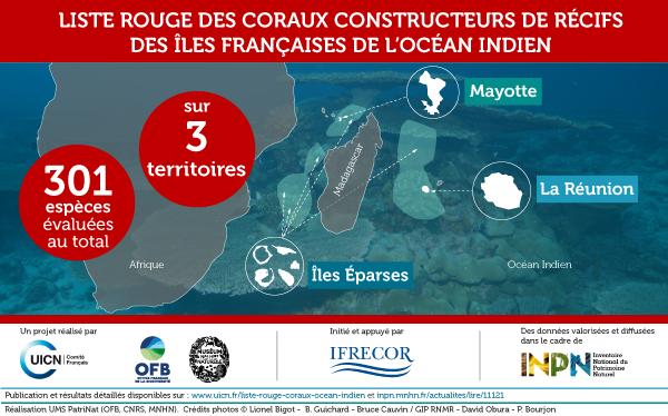 Carte de l'Océan Indien : La Réunion, Mayotte et Îles Éparses