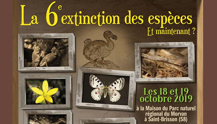 16e rencontres Bourgogne-Franche-Comté Nature : La 6e extinction des espèces. Et maintenant ?