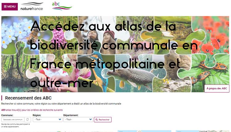 ABC - Atlas de la biodiversité communale © OFB