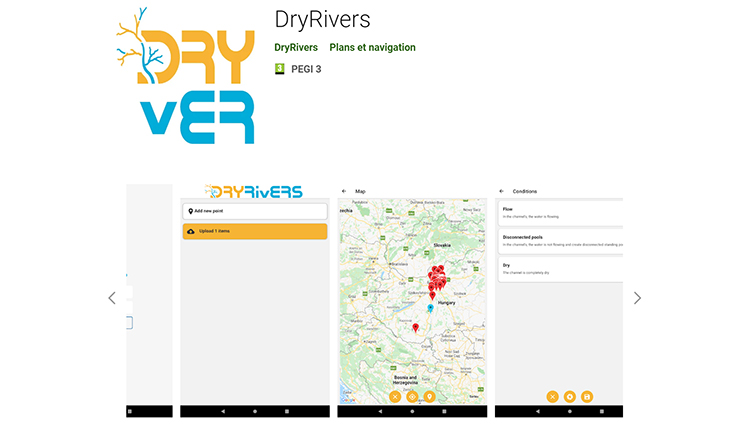 Dry Rivers © DR