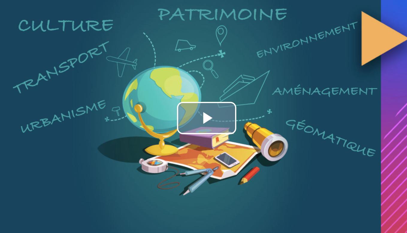 MOOC Métiers de la géographie © DR