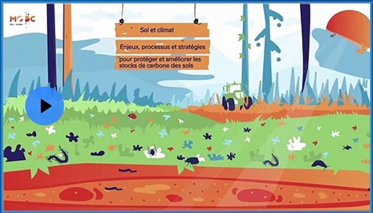 MOOC Sol et climat © FAgroParisTech