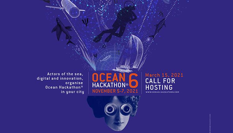 Affiche Ocean Hackaton 6e edition
