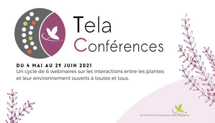 Tela Conférences 2021 © Tela Botanica