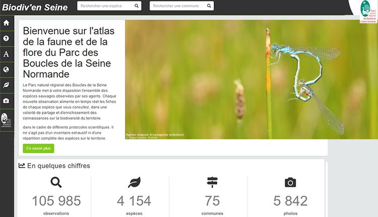 Atlas de la faune et de la flore du Parc des Boucles de la Seine Normande © PNR des Boucles de la Seine Normande
