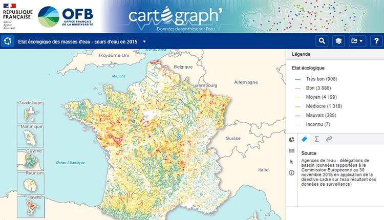 Site Cartograph' © OFB