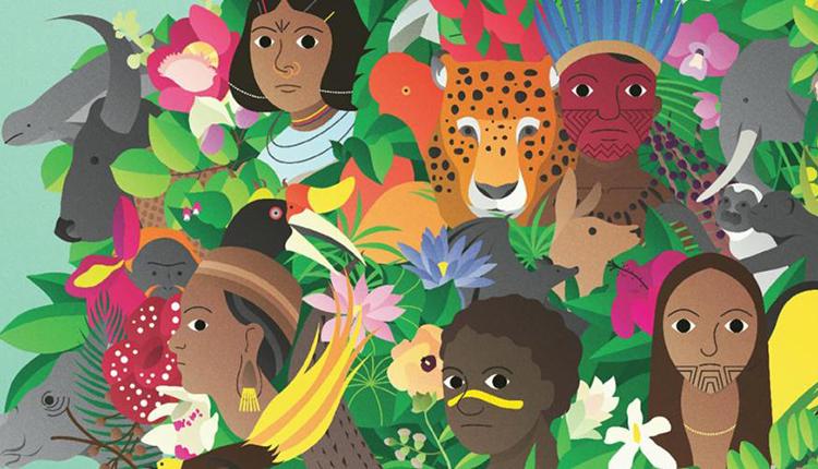 Affiche de la Journée mondiale de la vie sauvage sur le thème Forêts et moyens © Nations Unies