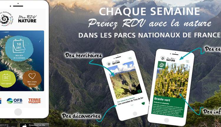 Mon RdV nature © Parcs Nationaux de France