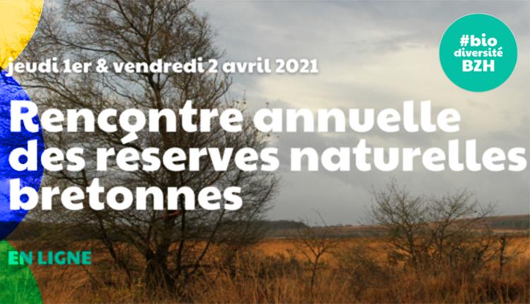 Affiche de la Rencontre annuelle des Réserves naturelles bretonnes © Agence bretonne de la biodiversité