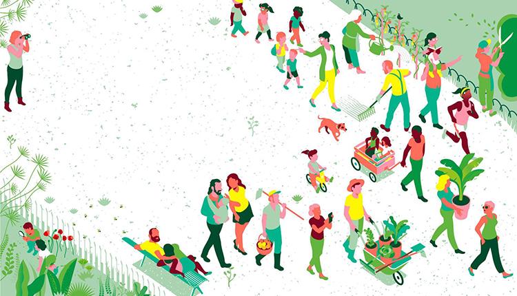 Affiche Rendez-vous aux jardins 2021 © © Ministère de la culture