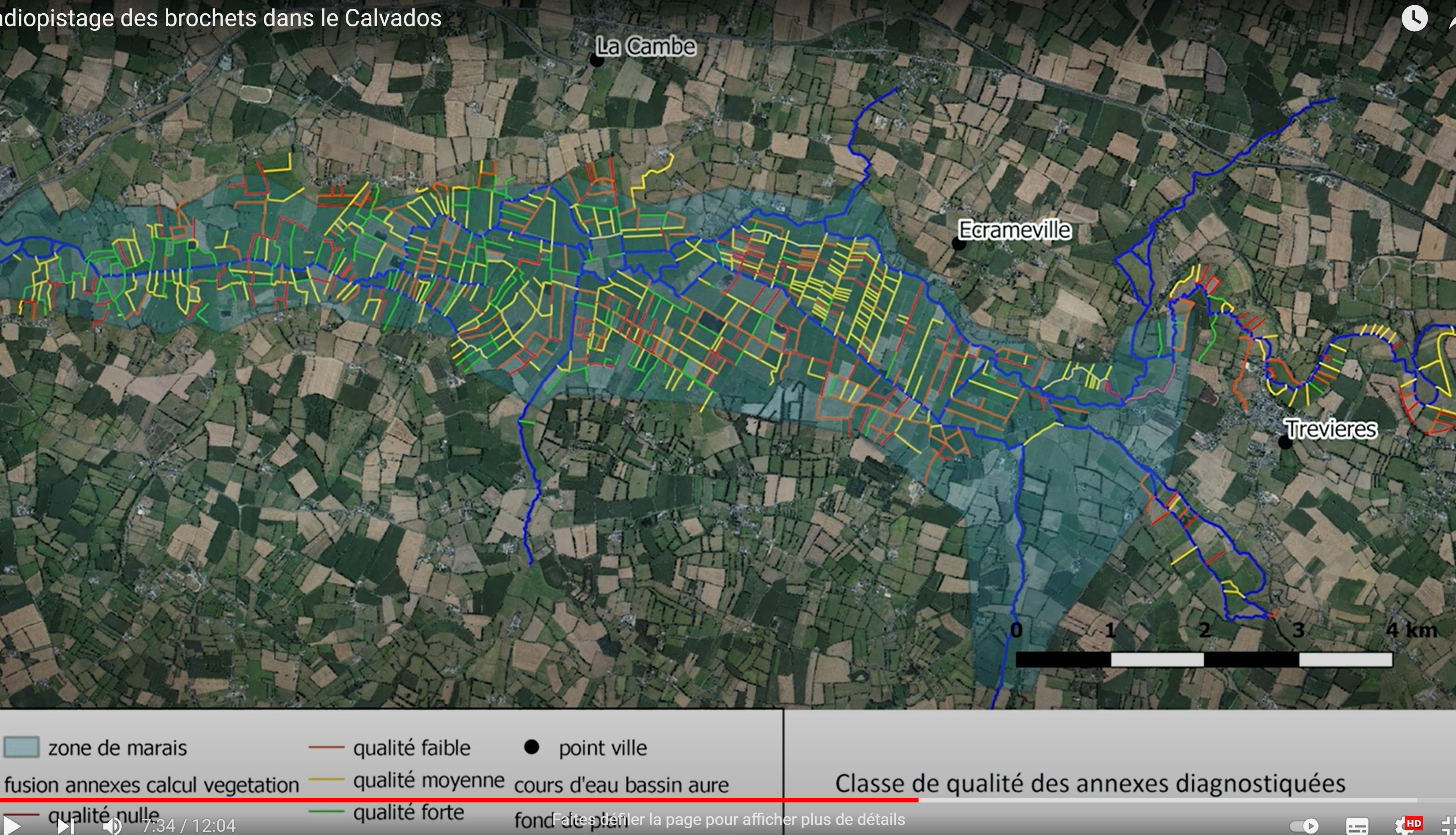 Radiopistage des brochets dans le Calvados © UFBSN